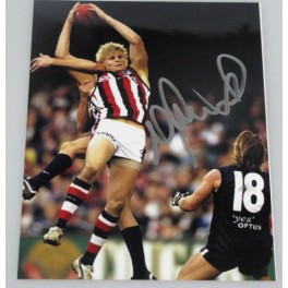 Nick Riewoldt Hand Signed Photo