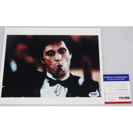 "AL PACINO 'Scarface' Hand Signed 8""x10"" Photo + PSA/DNA COA M56049"