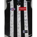2013 Collingwood Jersey Signed by 24 2013 Team