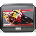"Marc Marquez Hand Signed & Framed 20"" x 30"" Lab Quality Photo 1"