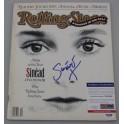 Sinead O'Connor Hand Signed Rolling Stone Magazine + PSA/DNA  COA