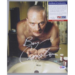 "Breaking Bad 'Bryan Cranston' Hand Signed 8""x10"" Photo 2 + PSA DNA COA"