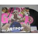 LADY GAGA Hand Signed LP 'Art Pop'  + PSA DNA