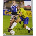 Ronaldo Hand Signed Brasil 11'x14' Photo + PSA/DNA Coa