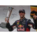 "Daniel Ricciardo Hand Signed HUGE Poster Size 20"" x 30""  Lab Quality  Photo 6  *MINOR DAMAGE*"