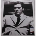 "AL PACINO 'God Father' Hand Signed 18""x22"" Canvas FULL SIGNATUR + PSA/DNA COA"