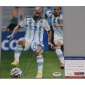 Pablo Zabaleta Hand Signed Argentina World Cup  8'x10' Photo + PSA/DNA Coa