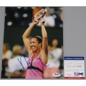 Jelena Jankovic Hand Signed 8'x10' Photo + PSA DNA COA
