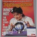 Michael J Fox Hand Signed Rolling Stone Magazine + PSA/DNA  COA