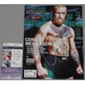 Conor McGregor Hand Signed Sports Illustrated  UFC 197 + JSA COA