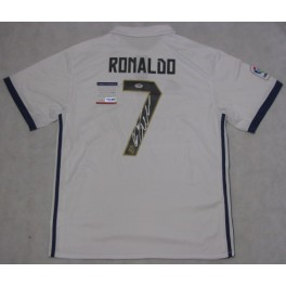 Cristiano Ronaldo Hand Signed Real Madrid Jersey + PSA/DNA