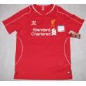 Steven Gerrard  Hand Signed Liverpool Jersey + PSA/DNA
