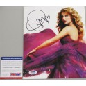 "TAYLOR SWIFT Hand Signed 8""x10"" Photo + PSA DNA COA"