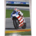 "NICKY HAYDEN Hand Signed 20"" x 30"" Lab Quality Photo 1"