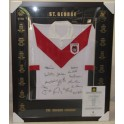 ST GEORGE Legends Hand Signed & Framed Retro Jersey Limited Edition 242/500