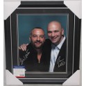 DANA WHITE & LORENZO FERTITTA  Hand Signed & Framed Photo + PSA/DNA COA