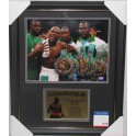 FLOYD 'MONEY' MAYWEATHER  Hand Signed & Framed Photo + PSA/DNA COA