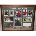 TIGER WOODS Hand Signed & Framed Photo