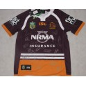 2017 Brisbane Broncos Hand Signed Team Jersey + Photo Proof