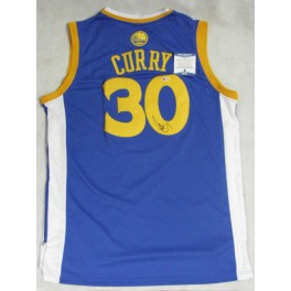 STEPH CURRY Hand Signed Golden State Jersey + Beckett  COA  PSA