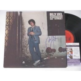 Billy Joel Hand Signed '52nd Street' LP   + JSA COA   BUY GENUINE