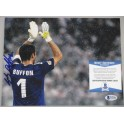Gianluigi Buffon Hand Signed Italy  8'x10' Photo + PSA/DNA  Beckett Coa