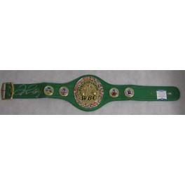Floyd 'Money' Mayweather  Hand Signed WBC Fullsize Belt  PSA  BAS