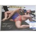 "Ronda Rousey *RARE FULL 'ROWDY' SIGNATURE*  Hand Signed 11"" x 14"" Photo 2  + PSA/DNA Coa"
