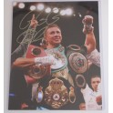 "GGG Gennady Golovkin Hand Signed 11"" x 14"" Colour Photo2 + COA"