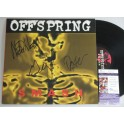 THE OFFSPRING x 3  Hand Signed 'SMASH'  LP   + JSA COA   BUY GENUINE
