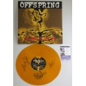 THE OFFSPRING x 3  Hand Signed 'SMASH'  Record   + JSA COA   BUY GENUINE