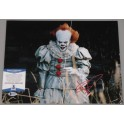 "BILL SKARSGARD 'IT' Pennywise  Hand Signed 11"" x 14"" Photo + PSA/DNA BECKETT COA"