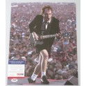 "ACDC Angus Young Hand Signed 11""x14"" Photo 3  + PSA/DNA COA"