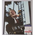 "ACDC Angus Young Hand Signed 11""x14"" Photo 6  + PSA/DNA COA"
