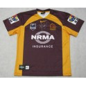 DARREN LOCKYER Hand Signed 2011 Broncos Jersey +Photo Proof 'Lockys Last Year'