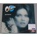 Olivia Newton John  Hand Signed Record Cover + PSA DNA COA