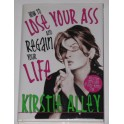 Kirstie Alley Hand Signed Book 'Lose Your ass' + GA PSA JSA Coa