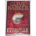 Clive Barker Hand Signed Book 'Everville' + GA PSA JSA Coa