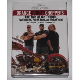 Orange County Choppers Hand Signed Book x  3 Teutuls  + GA PSA JSA Coa