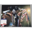 "Steve Tyler Aerosmith Hand Signed 11"" x 14"" Photo 2 + PSA/DNA"