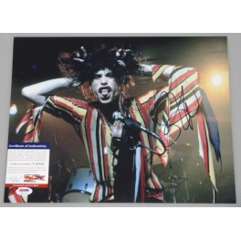 "Steve Tyler Aerosmith Hand Signed 11"" x 14"" Photo 2 + PSA/DNA"