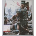 "Russell Crowe 'Gladiator' Hand Signed 11"" x 14"" Colour Photo  + PSA DNA COA"