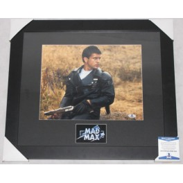 "Mel Gibson MAD MAX Hand Signed & Framed  11"" x 14"" Colour Photo  + PSA DNA / Beckett  COA"