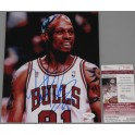 "Dennis Rodman Hand Signed 8""x10"" Photo 2 + JSA COA"