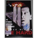 "Bruce Willis 'Die Hard' Hand Signed 12""x18"" Photo + JSA COA"