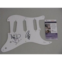 Muse Wolstenholme &Howard  Signed Pickguard + JSA COA