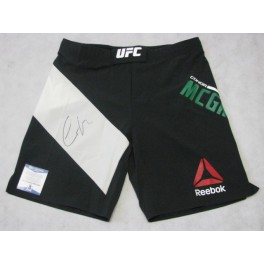 Conor McGregor Hand Signed  Official UFC Trunks Shorts UFC 196 + PSA BAS COA