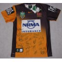 2014 Brisbane Broncos Away Jersey 2  Hand Signed