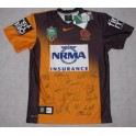 2014 Brisbane Broncos Away Jersey 1  Hand Signed