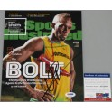 "USAIN BOLT Hand Signed 2016 8""x10"" Photo 8 + Beckett /  PSA DNA COA"